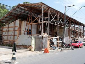 Casa de Bem Bem: Imóvel histórico sofre novo desabamento e MPE cobra a Prefeitura