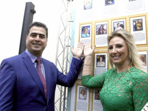 MOSTRA CULTURAL: Primeira dama é uma das 300 mulheres homenageadas