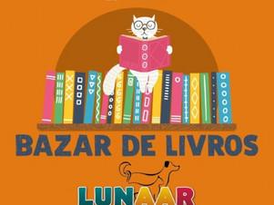 Projeto para ajudar animais abandonados realiza bazar com livros de R$ 1 a R$ 20
