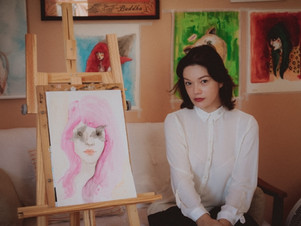 Em seu primeiro livro, ilustradora cuiabana detalha o nu com aquarelas e poema