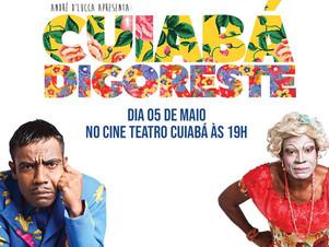Teatro Solidário: Quatro atrações fazem Cuiabá Digoreste neste domingo