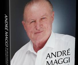 Trajetória de André Maggi é contada em livro lançado em Cuiabá