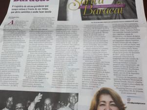Biografia celebra a vida de Sarita Baracat