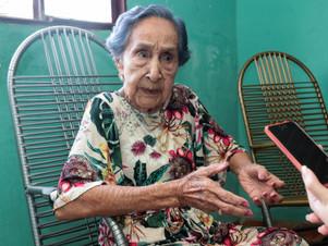 "Centenária conta o segredo da longevidade: ""Nunca fumei ou bebi"""