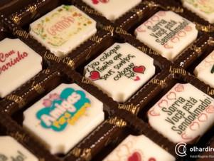 Personalização é marca de franquia cuiabana de chocolate que inaugura quiosque nesta sexta