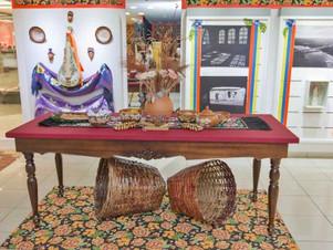 Exposição conta história de Cuiabá com música e artes visuais