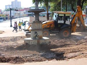 O Secretário da Prefeitura de Cuiabá declarou que vai passar o rodo no monumento tombado! Como fica?