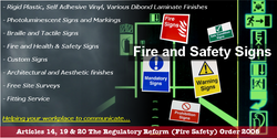 Where can I get Fire Safety signs in Dorset, Hampshire, Wiltshire and Somerset_.