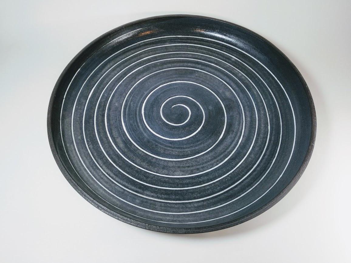 Black plater (spiral) D 40cm