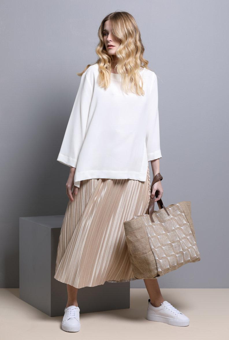 Jute tote resort bag eco friendly Handbag with handmade screen printing