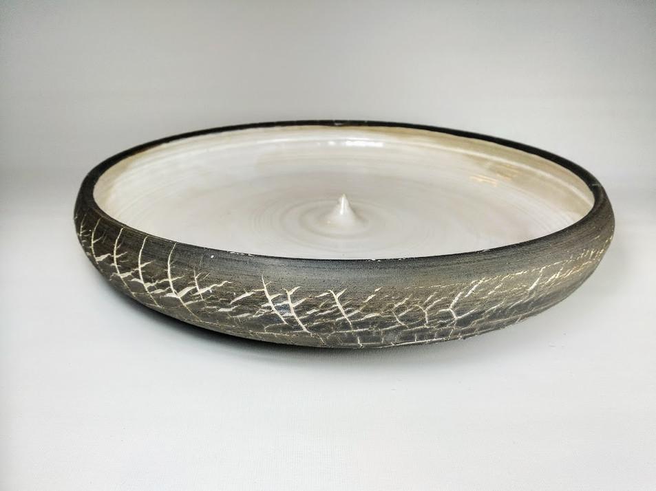Flat drop bowl  H 7cm D 45cm