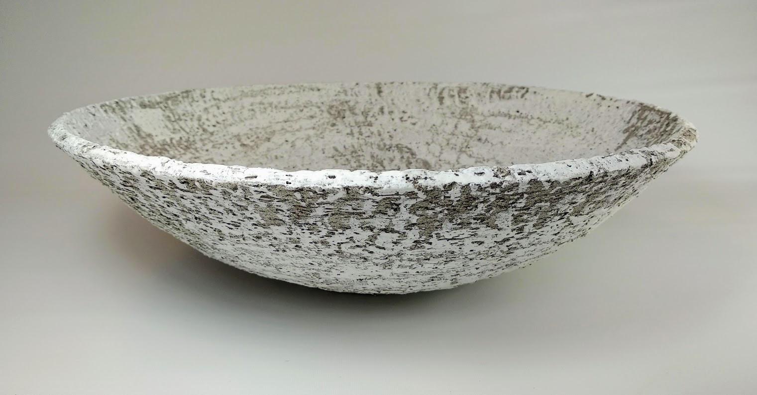 Textured bowl H 15cm D 45cm