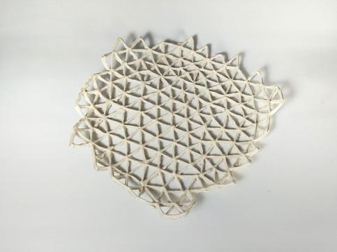Triangular Lace D 20cm