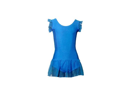 Vestido ballet con falda
