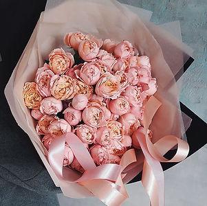 Монобукет из кустовых роз Джульетта - купить монобукет Москва