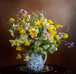 Свежие цветы дома или в офисе каждую неделю - цветочная подписка JK Flowers