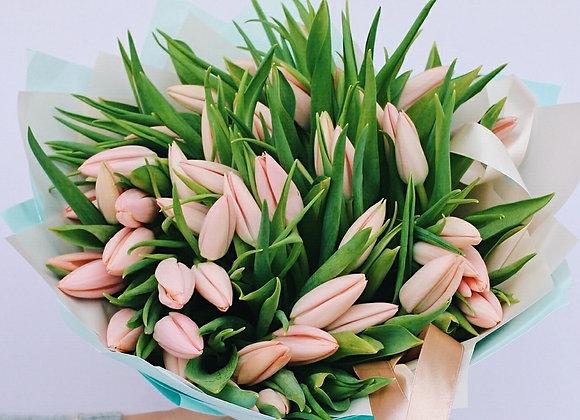 Букет тюльпанов Тиз Бутс от 25 шт