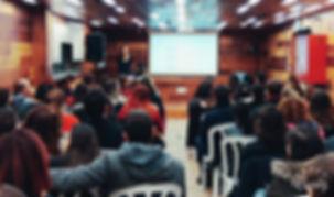 הרצאה של קלינאית תקשורת