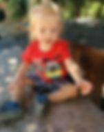 פעוט בן שנה וחצי