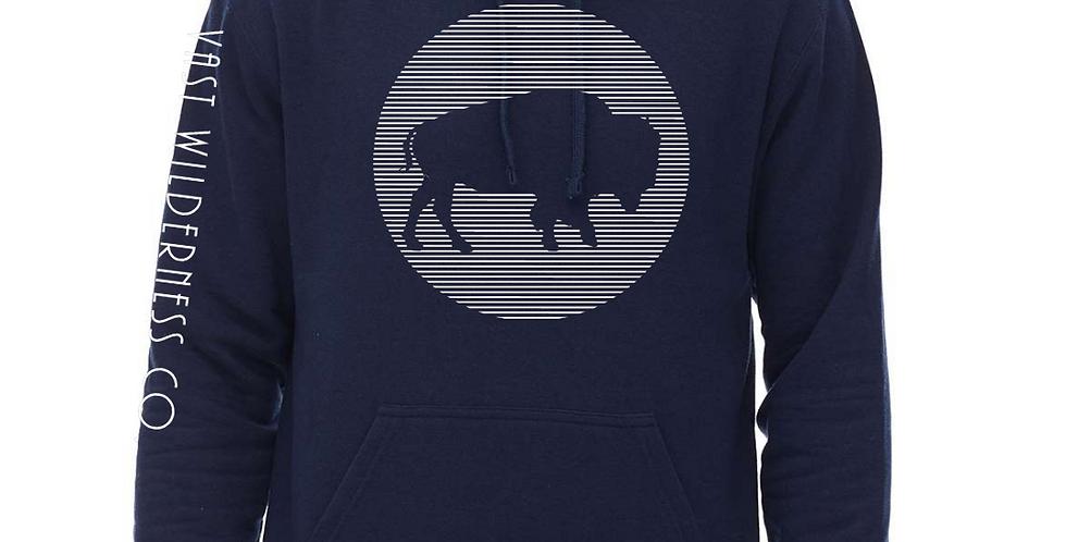 Bison Lines Hoodie