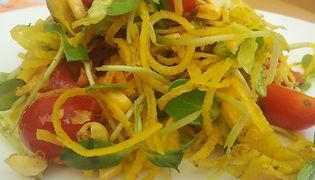 yellow beetroot salad