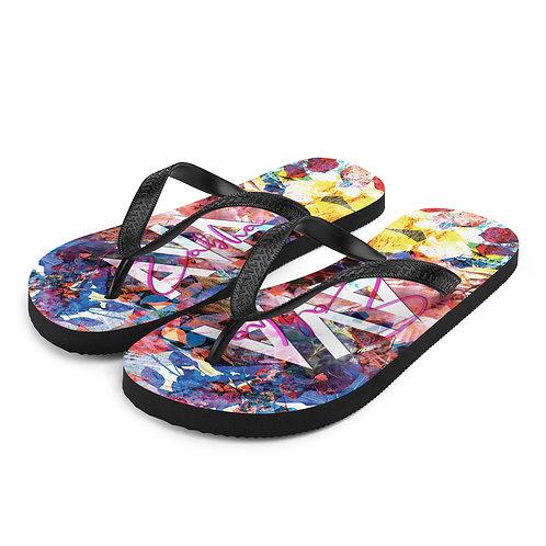Wildflower Flip Flops