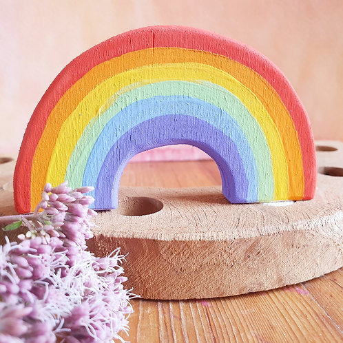 Regenboog steker