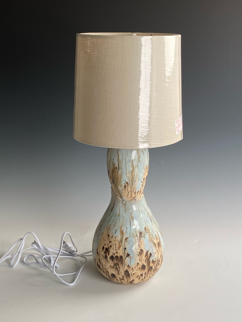 "Lamp w Shade  21"" $85"