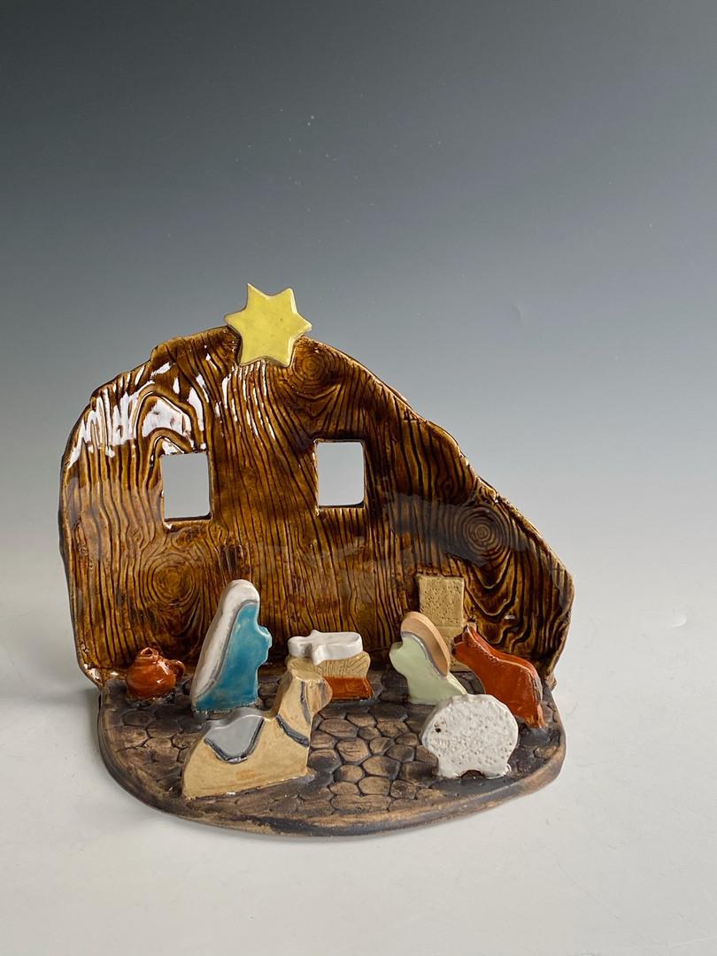"Nativity     8 1/2""x10 1/2"" $50"