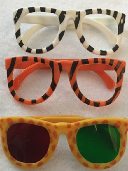 Animal Glasses with red/green lenses