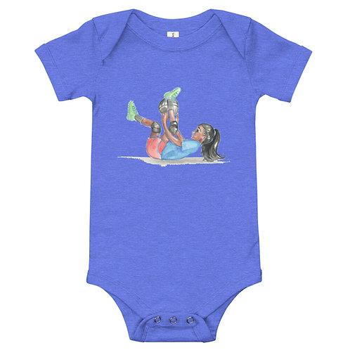 Jana Train - Baby short sleeve one piece