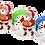 Thumbnail: Santa Claus - kulatý - BASKETBALL