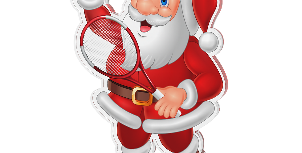 Santa Claus single - Tennis