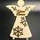 Thumbnail: Magnet - andílek - dřevěný - s vlastním textem