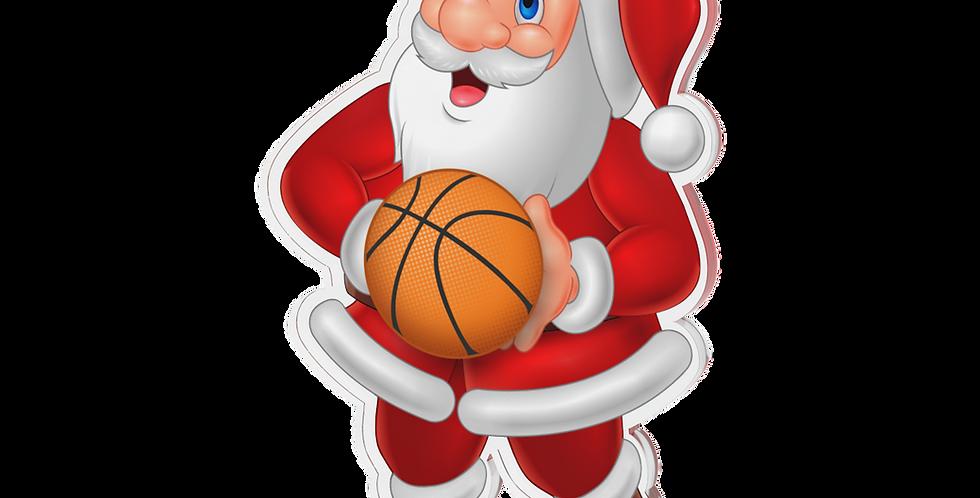 Santa Claus single - Basket