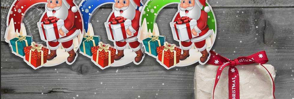Santa Claus - kulatý - UNI