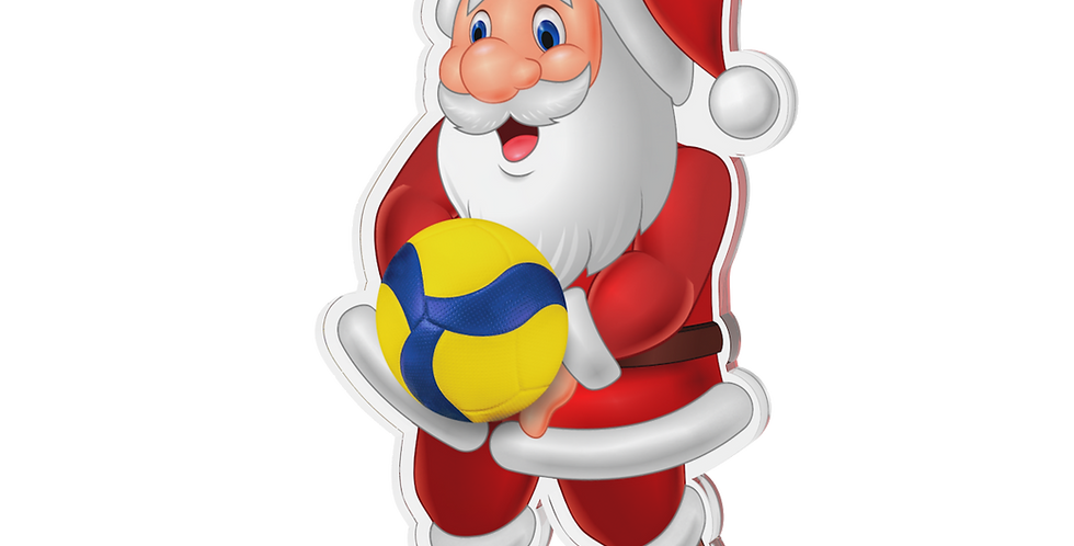 Santa Claus single - Volleyball