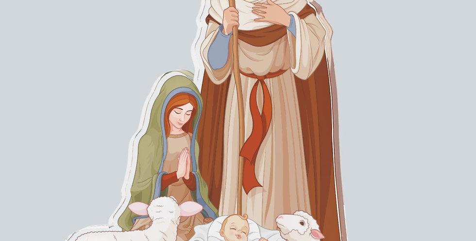 VÁNOČNÍ OZDOBA JEŽÍŠEK