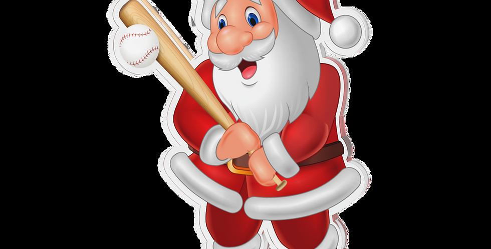 Santa Claus single - baseball
