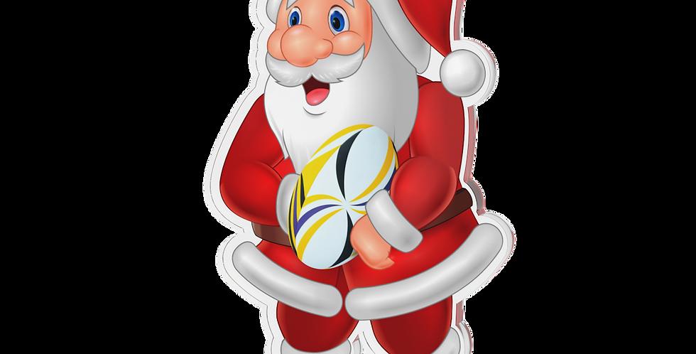 Santa Claus single - rugby