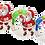 Thumbnail: Santa Claus - kulatý -TENNIS