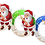 Thumbnail: Santa Claus - kulatý - BASEBALL