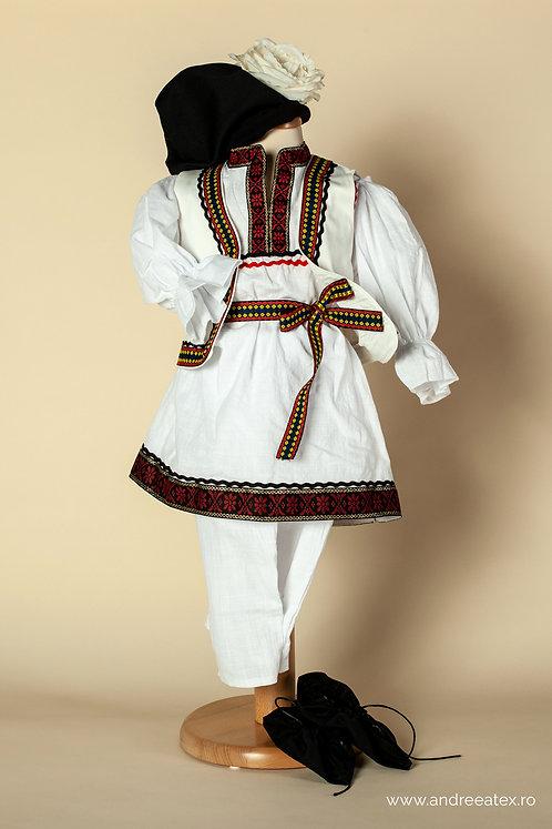 Costum național băieți cu vestă (3-5ani)