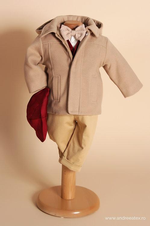 Jachetă Dominic - beige (botez)