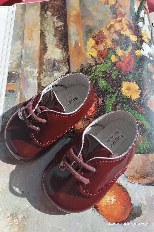 Pantofiori băieți B 010 /// burgundy