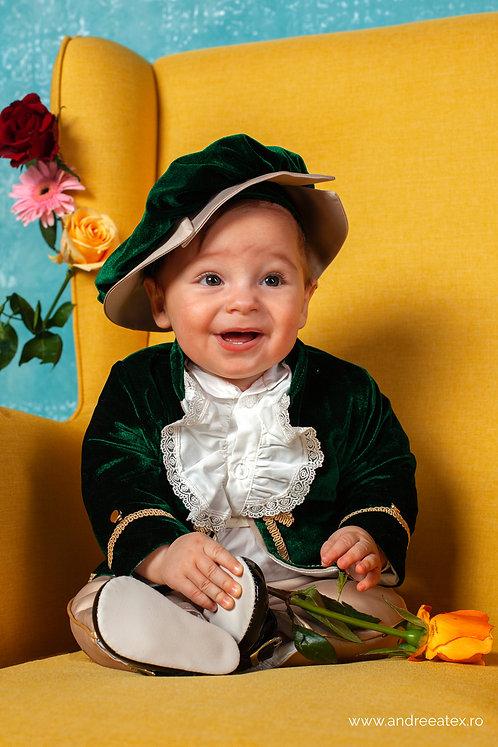 Micul Prinț - verde(3luni/6 luni)