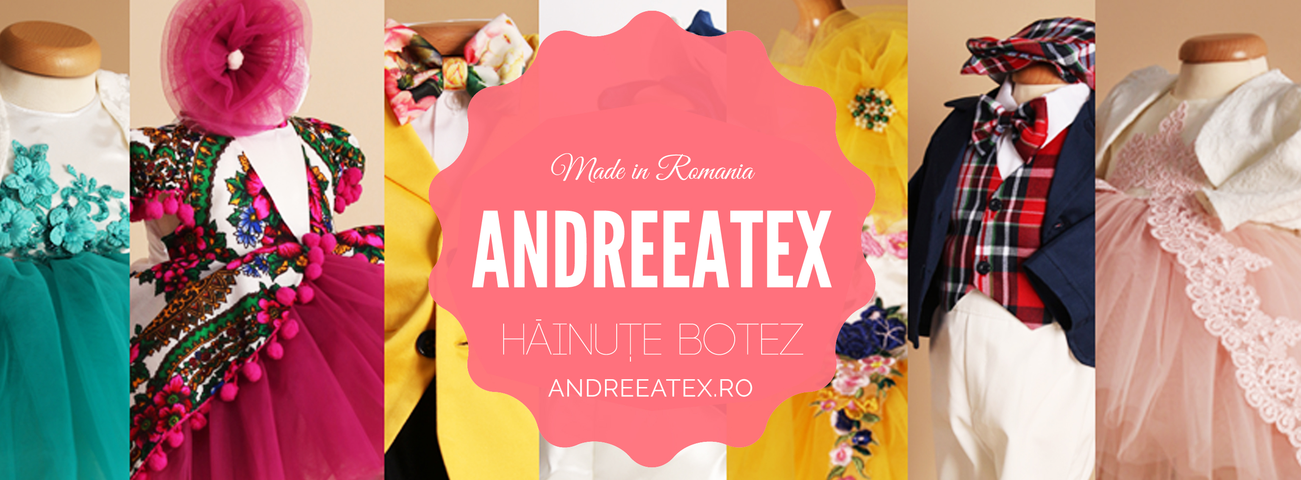 Andreeatex Hăinuțe Botez Produs în România