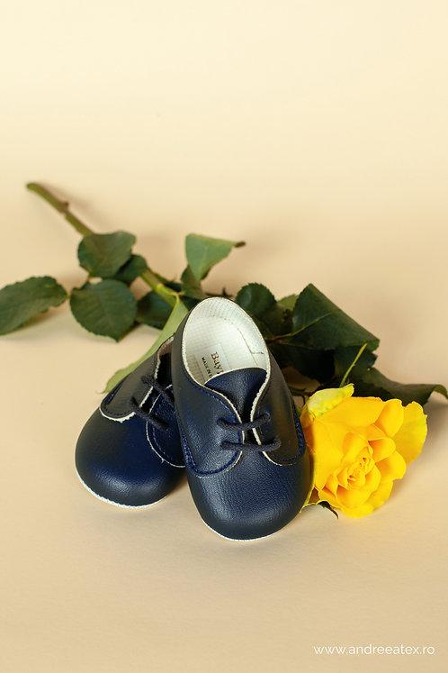 Pantofiori băieți B 010 /// bleumarin
