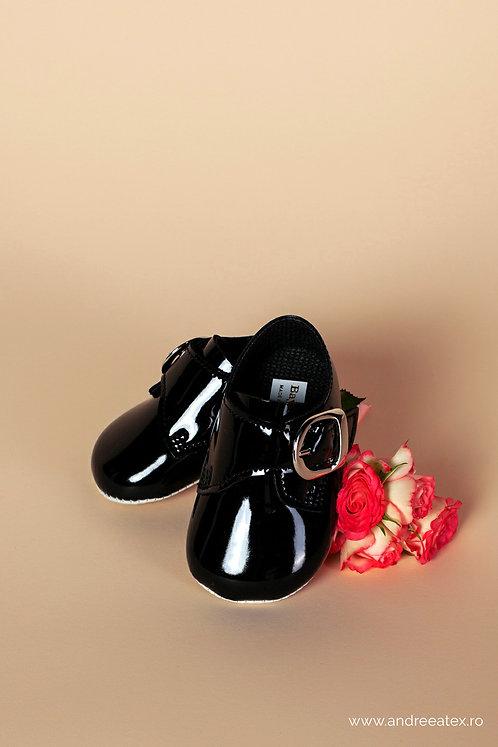 Pantofiori băieți B656 ///negru