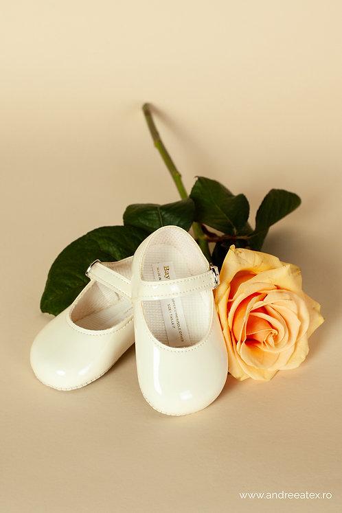 Pantofiori fetițe B021 /// ivoire